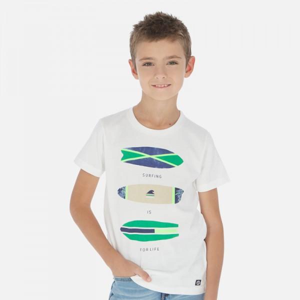 """Тениска """"surfing"""" със сърф дъски"""