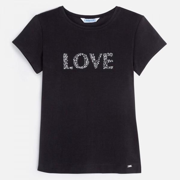 Тениска за момиче LOVE