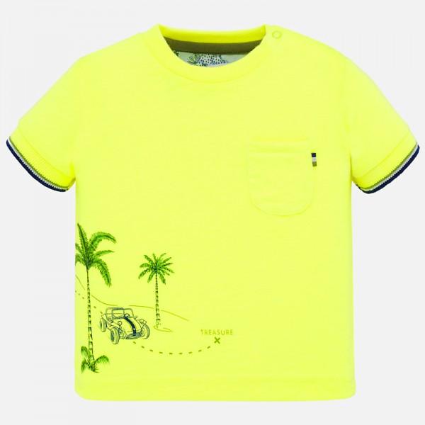Тениска с палми за момче