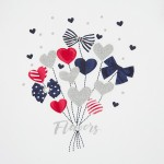 Блуза с балони сърца