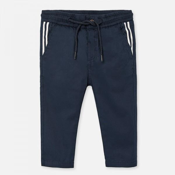 Дълъг панталон chino relaxed с ленти за момче