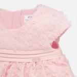 Ефектна рокля от тюл с гащички за новородено бебе момиче