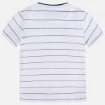Тениска райета с бродерия за момче