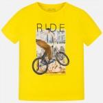 """Тениска с велосипед """"Ride"""""""
