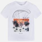 Тениска с принт парашутист