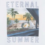 "Тениска ""eternal summer "" с принт"