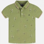 Поло тениска с принт парашути