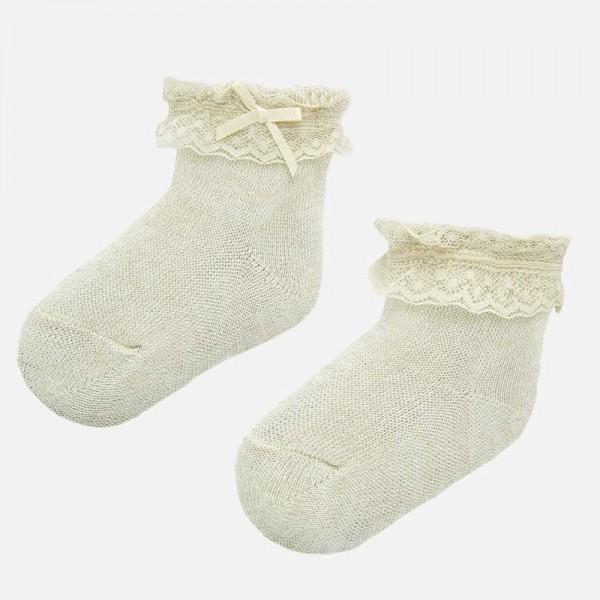 Официални чорапи за новородено бебе момиче