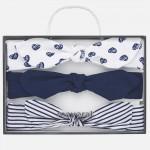 Комплект ленти за глава за новородено бебе момиче