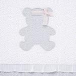 Пелена с апликации за бебе момиче
