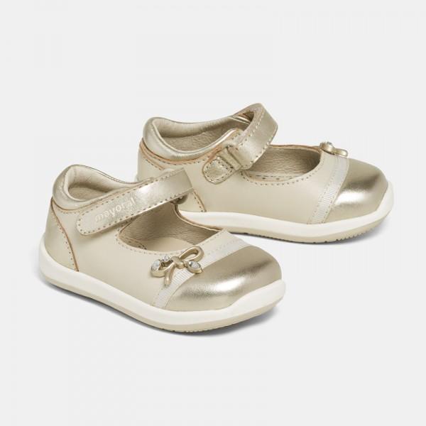 """Обувки с панделка """"First Steps"""""""