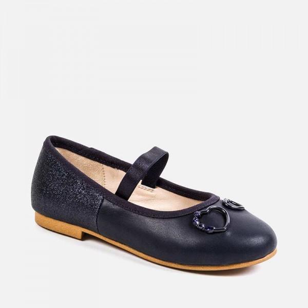 Обувки с апликация на сърца за момиче - тийн серия