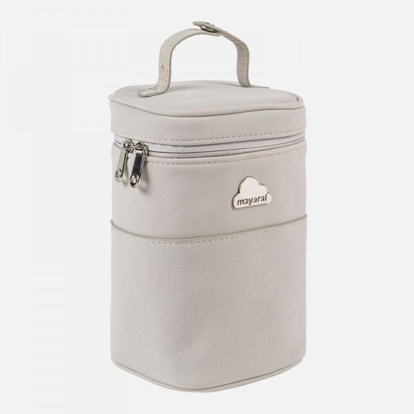 Малка хладилна чанта от изкуствена кожа