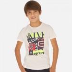 Тениска с лого за момче - тийн серия