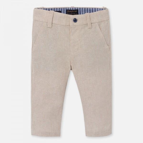 Дълъг панталон chino от лен за момче