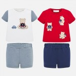 Комплект 4 части с мечета за новородено бебе момче