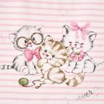 Комплект туника райе с котенца и клин