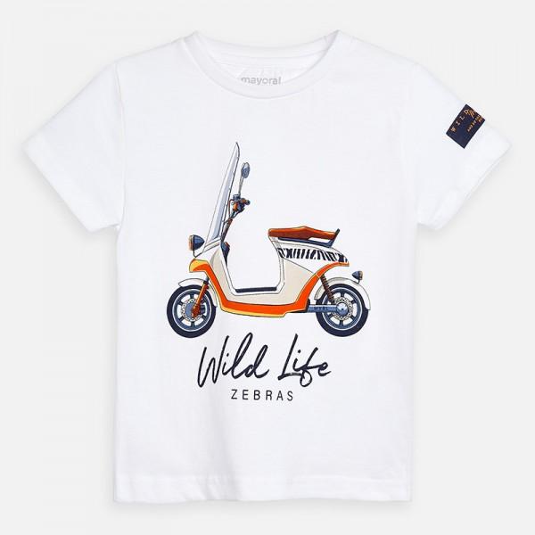 """Тениска с мотопед """" WILD LIFE"""""""