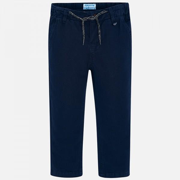 Дълъг панталон chino regular fit с лен за момче