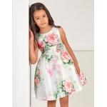 Елегантна рокля с флорален принт  Abel & Lula
