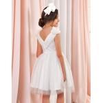 Елегантна бяла рокля Abel & Lula