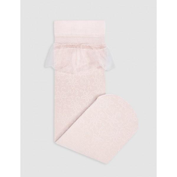 Елегантни чорапи с тюл и бродерия Abel & Lula