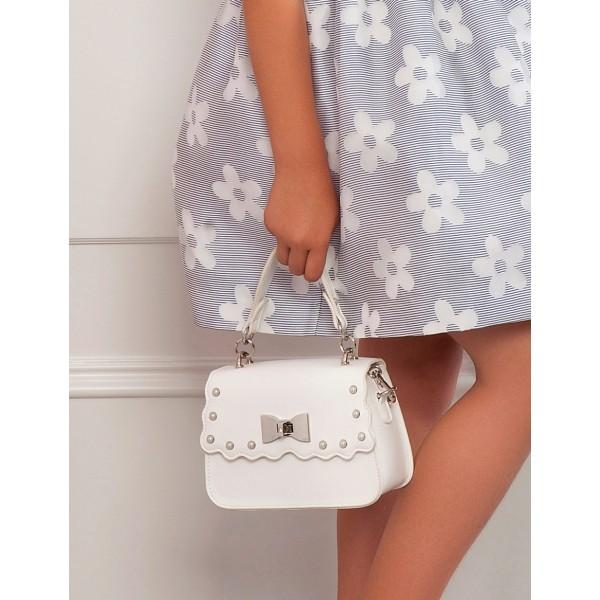 Стилна чанта с перли Abel & Lula