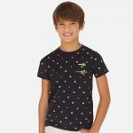 """Тениска за момче """"Wave Rider """" с щампа"""
