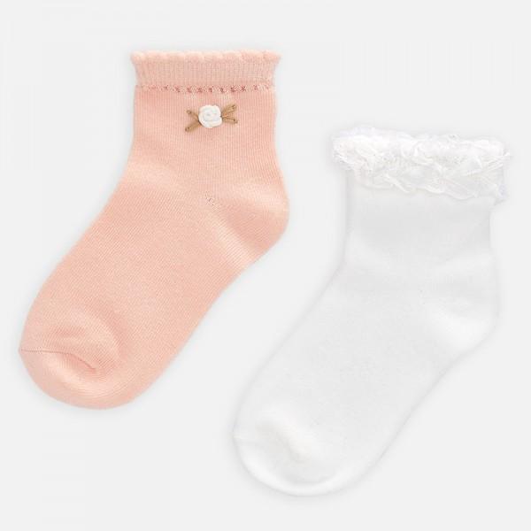 Комплект чорапи с апликация за момиче