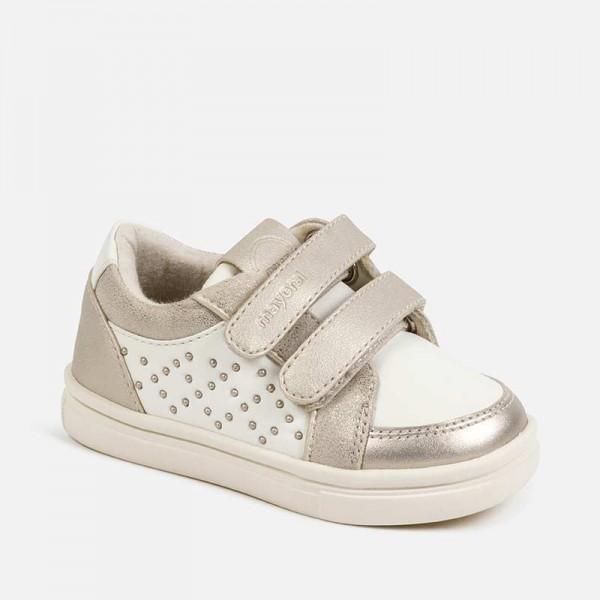 Ежедневни обувки с капси за момиче