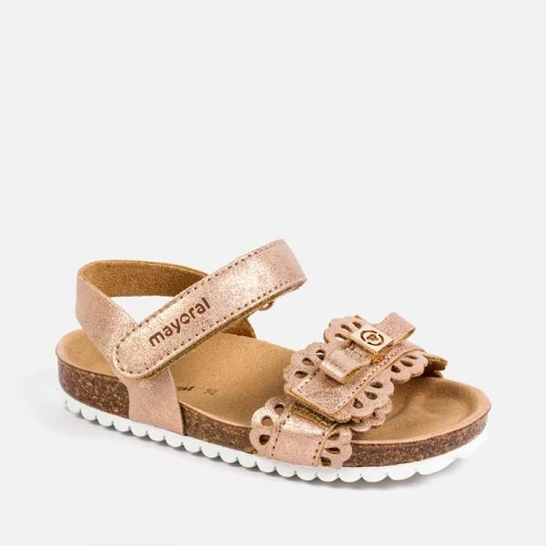 Анатомични ажурни сандали за  момиче