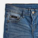 Къси дънкови панталони за момче с 5 джоба