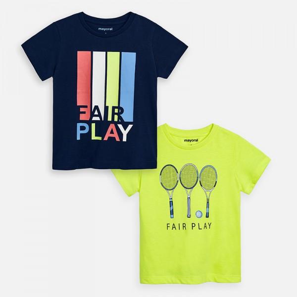 Комплект тениски с къс ръкав Fair Play за момче