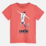 Тениска с футболист