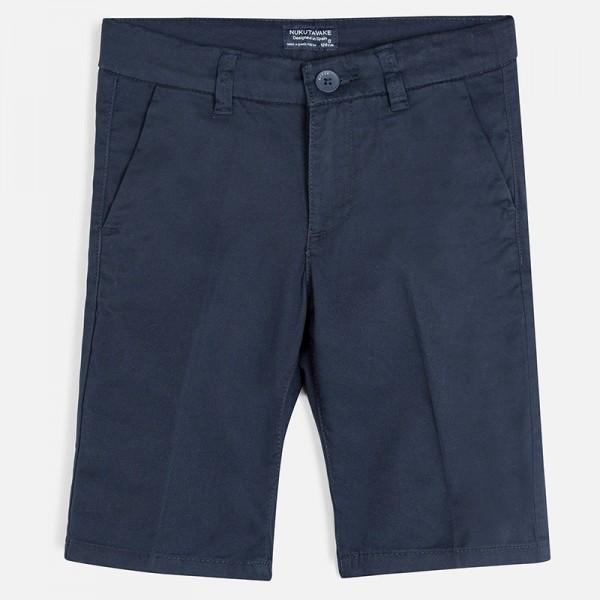 Къси панталони chino със скрити джобове за момче