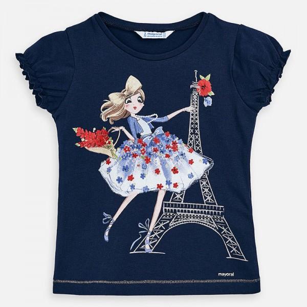 Тениска с айфелова кула