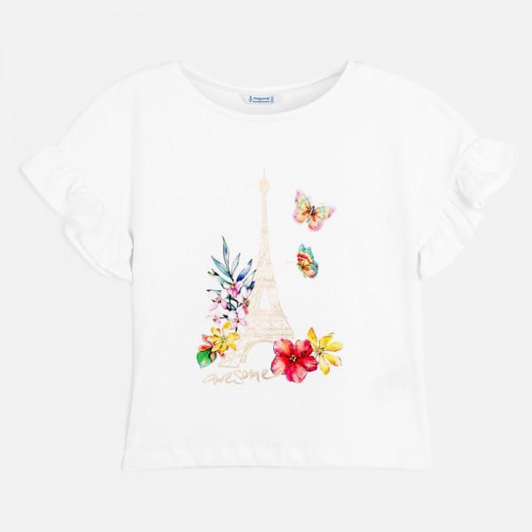 Тениска Париж  за момиче