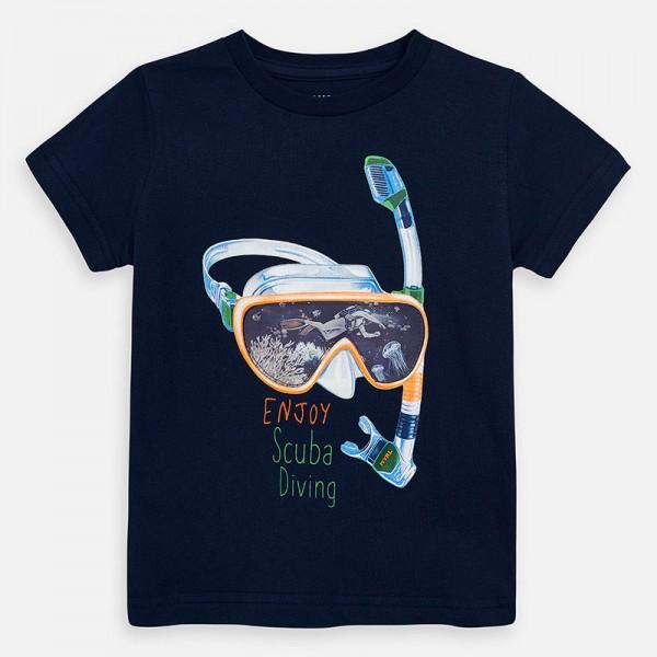Тениска с шнорхел