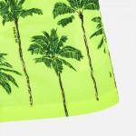 Бански бермуди с принт палми за момче
