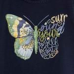 Топ с принт пеперуда