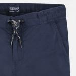 Бермуди с връзка и джобове за момче