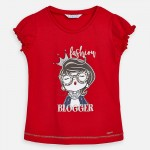 Тениска  момиче с коронка
