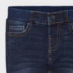 Дълъг дънков панталон regular fit за бебе момче