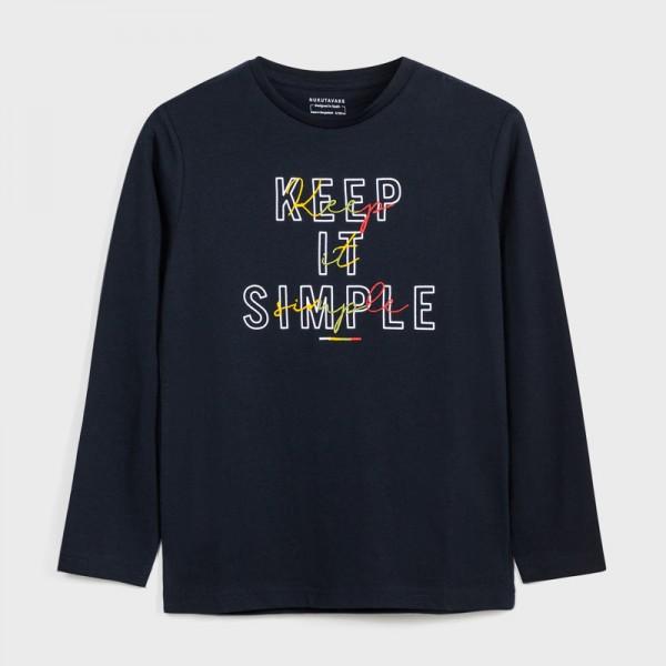 Блуза KEEP IT SIMPLE за момче - тийн серия