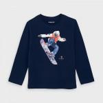 Блуза със сноубордист