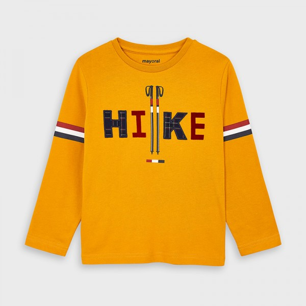 """Блуза за момче с апликация """" HIKE """""""