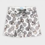 Кадифени къси панталонки за момиче