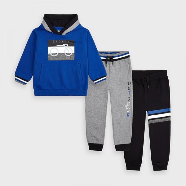 Спортен комплект със суичър Outdoor за момче