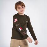 Блуза с щампи за момче - тийн серия