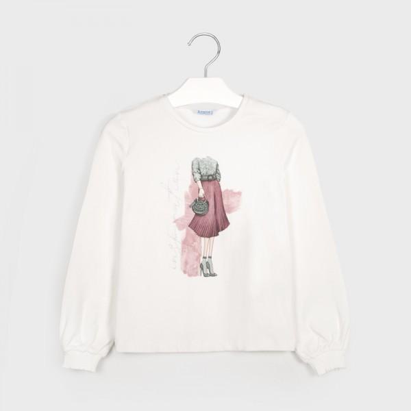 """Блуза за момиче """" OUTFIT """"- тийн серия"""
